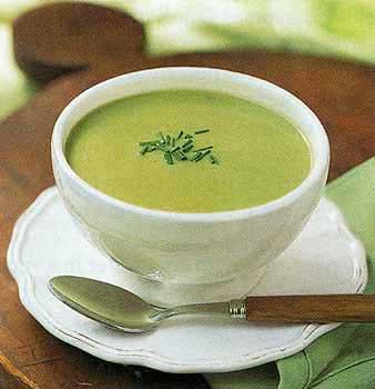 cream of asparagus soup | Nicole Geurin, MPH, RD